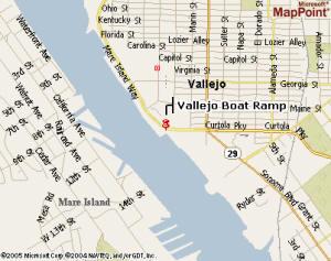 Mare Island Strait Vallejo Boat Ramp